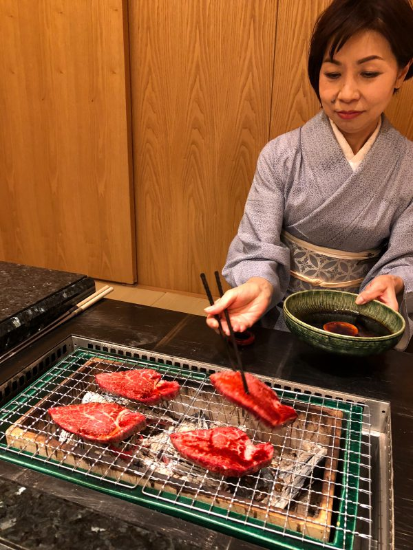 柿安別邸 松坂牛